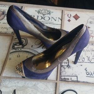 AMAZING* Jennifer Lopez Navella Blue Heels
